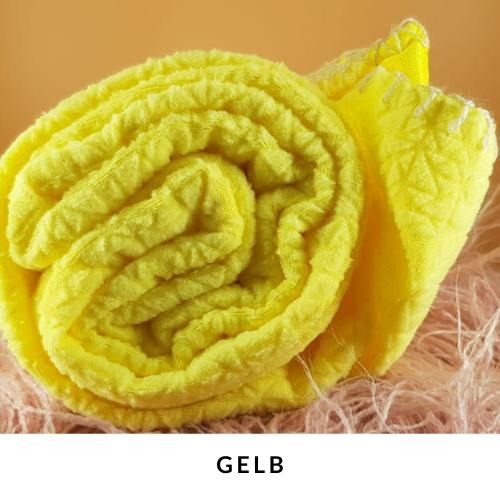 Schnüffelteppich für Kaninchen Beschäftigung gelb