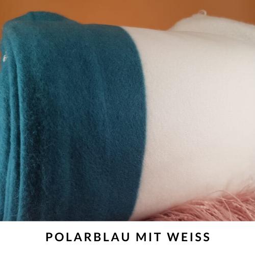 Schnüffelteppich für Kaninchen Beschäftigung polarblau mit weiss
