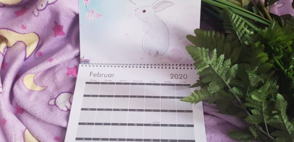 Kaninchen Kalender 2020