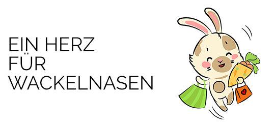 Ein Herz für Wackelnasen + Kaninchen