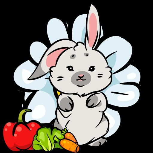 Bunny Puzzle Logo