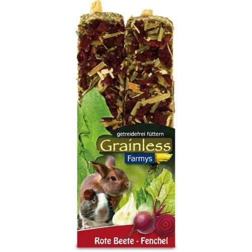 Nahrung für Kaninchen und Nager von JR Farm - Grainless Farmys Rote Beete-Fenchel 140g