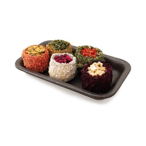 Nahrung für Kaninchen und Nager von JR Farm - Sushi Rolls 5 Stück 100g