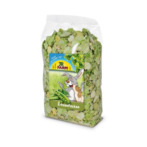 Nahrung für Kaninchen und Nager von JR Farm - Erbsenflocken 200g