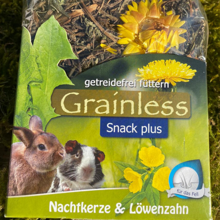 JR FARM Grainless Snack plus Nachtkerze & Löwenzahn Moos