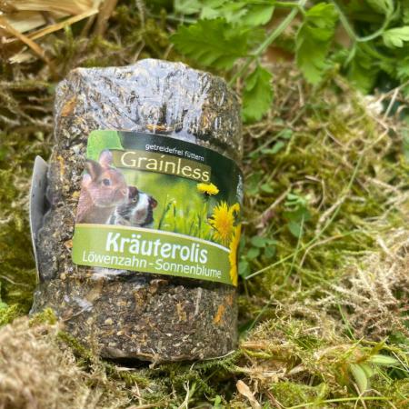 JR Grainless Kräuterolis Löwenzahn – Sonnenblume