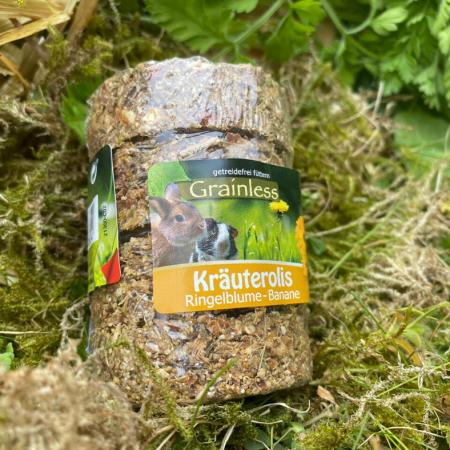 JR Grainless Kräuterolis Ringelblume – Banane