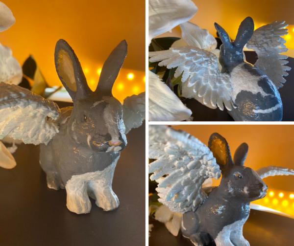Kaninchen Engel